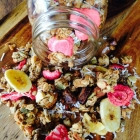 Coconut & Strawberry Granola