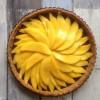 Paleo Chocolate Mango Tart