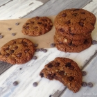 Paleo Pumpkin & Walnut Chocolate Chip Cookies