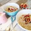 Buckwheat Porridge with Figs & Roast Almonds