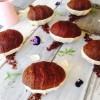 Easter Egg Icecream Cakes - Chocolate, Date & Ginger Cake & Coconut Ginger Icecream