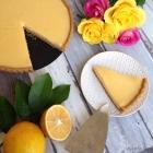 Lemon Tart (Gluten Free & Refined Sugar Free, Primal)
