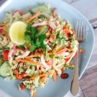 Thai Chicken Salad with Creamy Coconut Dressing