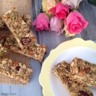 Cranberry & Almond Muesli Bars