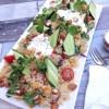 Roast Pumpkin & Dukkah Spiced Quinoa Salad w Garlic Yoghurt Dressing