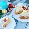 White Nectarine & Coconut Cake (Gluten Free)