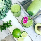 Lime & Coconut Green Smoothie