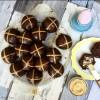 Sourdough Chocolate Hot Cross Buns