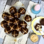 Sourdough Chocolate Hot Cross Buns