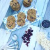Cranberry, Oat & Choc Chip Cookies