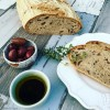 Olive & Thyme Sourdough Bread