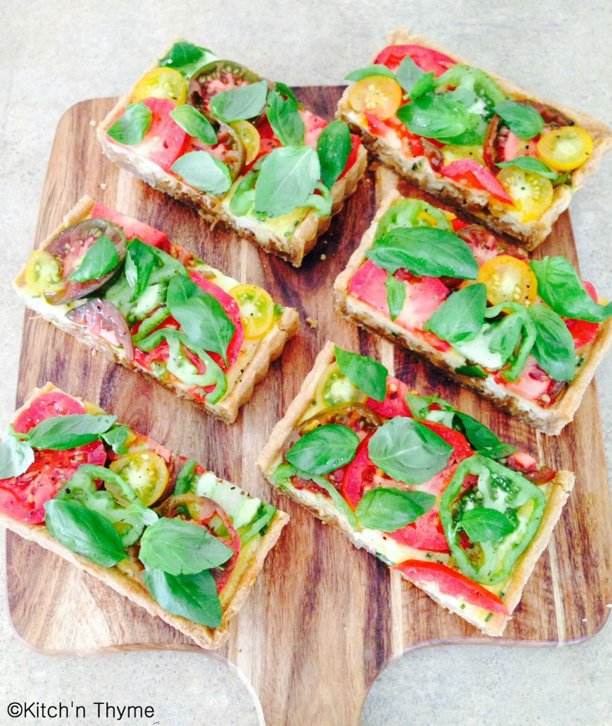 Heirloom Tomato Tart C