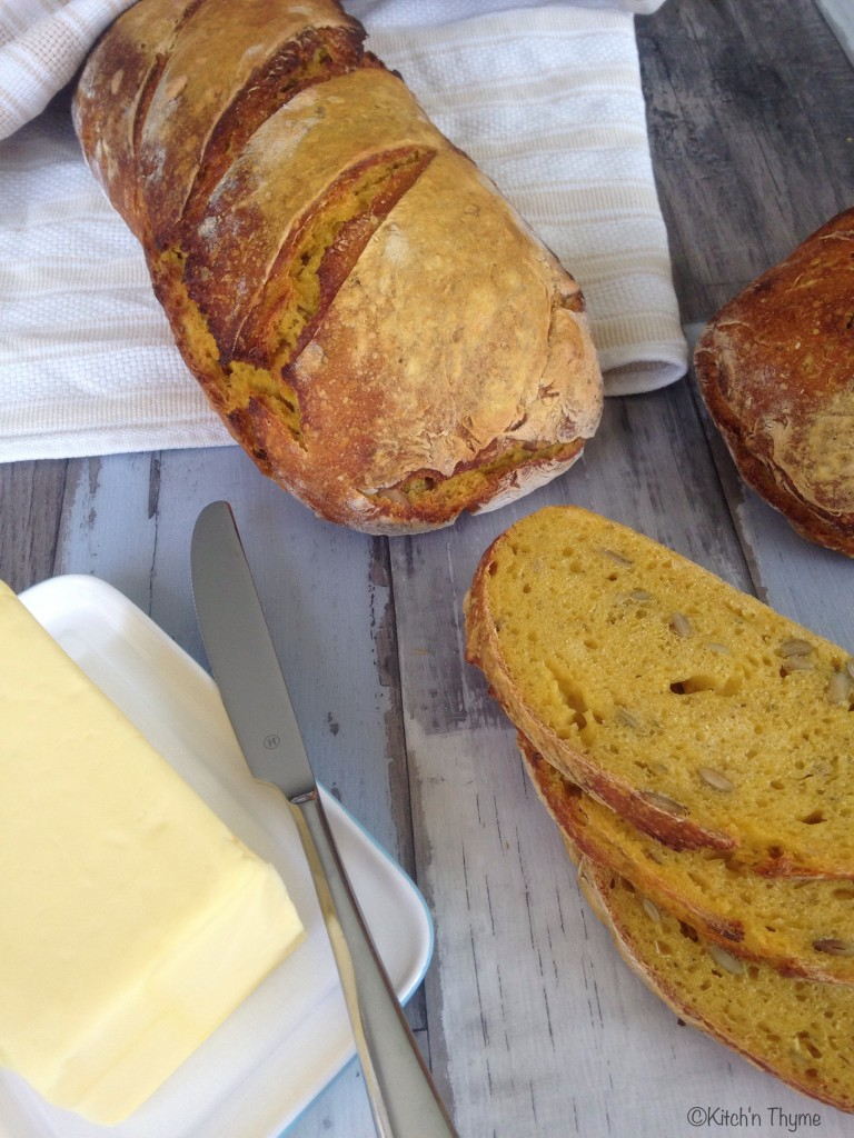 Pumpkin Sourdough Vienna