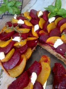 Roast Beetroot Tart 3