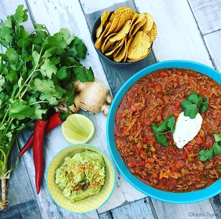 Chilli Con Carne upgraded
