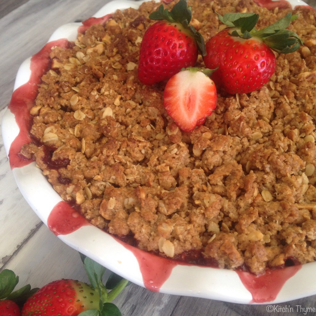 Apple Berry Crumble Recipe — Dishmaps