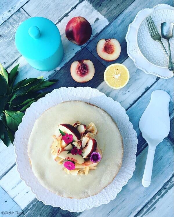 Coconut  Nectarine Cake 6 Full size